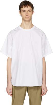 Oamc White Poplin Newton T-Shirt