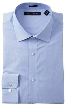 Tommy Hilfiger Fineline Stripe Slim Fit Dress Shirt
