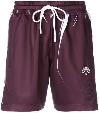adidas By Alexander Wang manufacturing print shorts