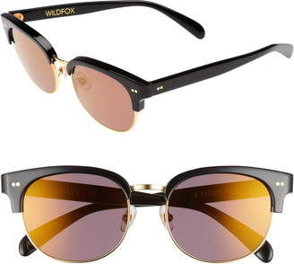 4aa3ebd9517d7 Wildfox Couture Clubhouse 50mm Semi-Rimless Sunglasses