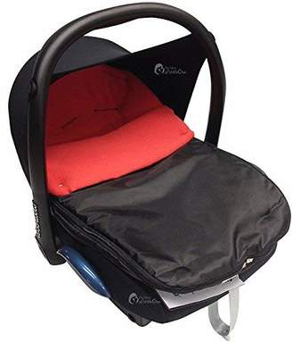 For Your Little One Car Seat Footmuff/Cosy Toes Compatible with Jane Red