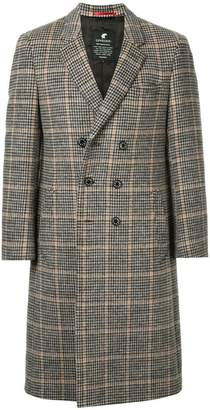 Loveless straight-fit buttoned coat