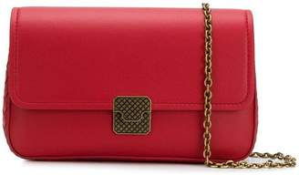Bottega Veneta textured lock crossbody bag