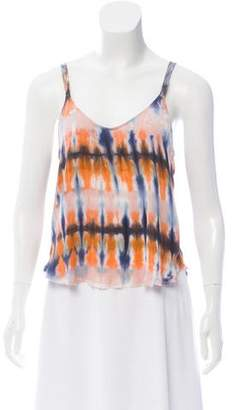 Raquel Allegra Silk Tie-Dye Top w/ Tags