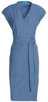 MiH Jeans Frankie Cotton-Chambray Wrap Dress
