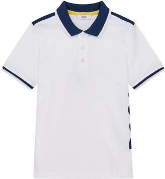 HUGO BOSS Side Logo Polo Shirt