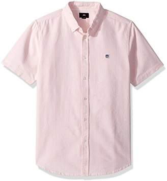 Obey Men's Eighty Nine Short Sleeve Button UP Woven