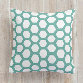 Hexipattern Square Pillow