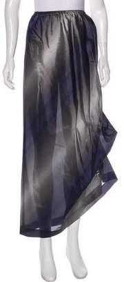 Emporio Armani Colorblock Midi Skirt