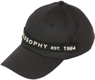 Philosophy di Lorenzo Serafini Logo Tag Cotton Baseball Cap