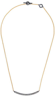 Yossi Harari 18k Diamond Lilah Smile Pendant Necklace