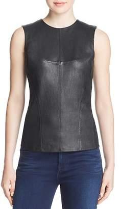 Theory Modern Leather-Front Shell