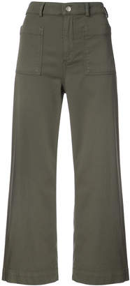 A.L.C. cropped flared trousers