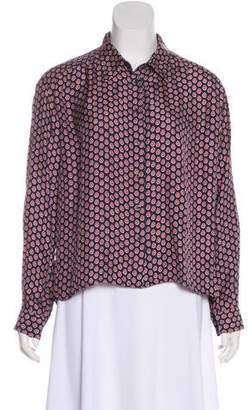 df1b5336ef9eb Pre-Owned at TheRealReal · Elizabeth and James Silk Abstract Print Blouse