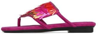 Donald J Pliner Kya Metallic Sandal