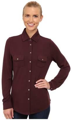 Carve Designs Napa Button Down Women's Long Sleeve Button Up
