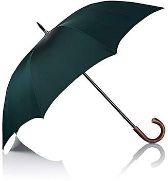Barneys New York Men's Subtly Striped Stick Umbrella