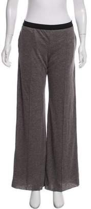Sacai Luck Linen High-Rise Pants w/ Tags