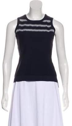 Jonathan Simkhai Sleeveless Embellished Top