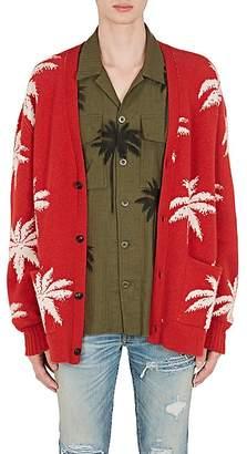 Amiri Men's Palm Trees Cashmere Oversizes Cardigan