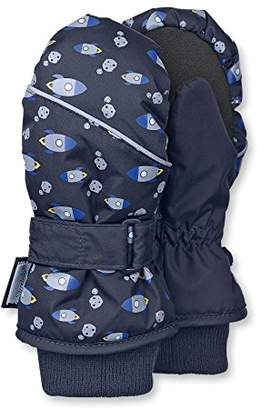 Sterntaler Mittens for Children, Waterproof and reflective, Age: 5-6 Years, Size: 4, Navy