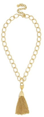 Women's Baublebar Chain Link Tassel Necklace $42 thestylecure.com