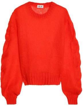 Baum und Pferdgarten Cable And Open-Knit Mohair-Blend Sweater