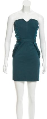 Alice by Temperley Strapless Mini Dress $85 thestylecure.com