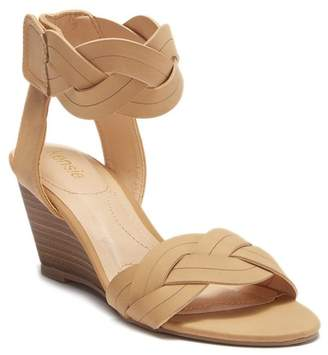 Kensie Sharon Braided Wedge Sandal