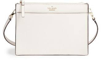 Kate Spade New York Cameron Street Clarise Leather Shoulder Bag - Beige $198 thestylecure.com