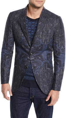 Etro Men's Paisley-Print Sport Coat Jacket
