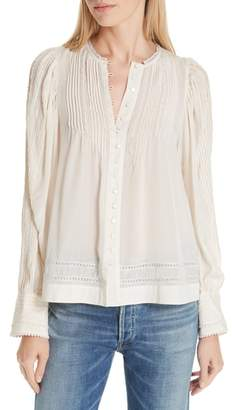 Sea Azzedine Pleated Blouse
