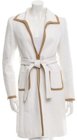 ValentinoValentino Belted Long Coat