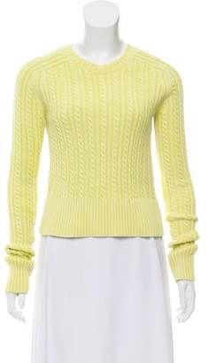 Sies Marjan Crew Neck Cable Knit Sweater