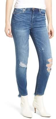 The Great BLANKNYC Denim Jones Ripped Crop Skinny Jeans (Play Hard)