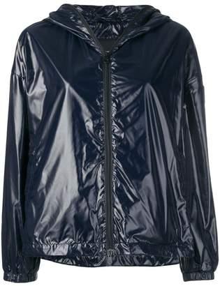 Duvetica logo hooded rain jacket