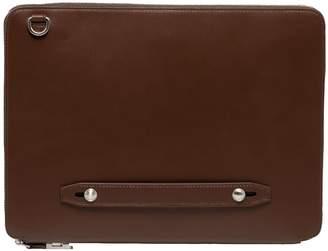 Faire Leather Co. Bond Vt Everyday Padfolio Dark Brown
