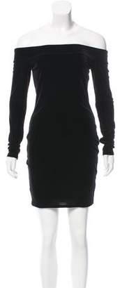 Bailey 44 Velvet Mini Dress w/ Tags