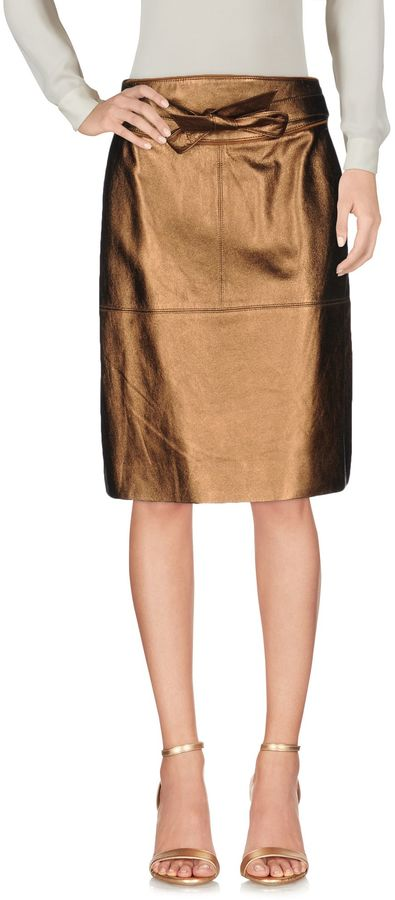 Marc By Marc Jacobs MARC BY MARC JACOBS Knee length skirts