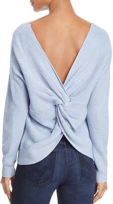 Endless Rose Twist Back Sweater