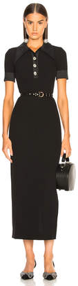 Alessandra Rich for FWRD Polo Dress