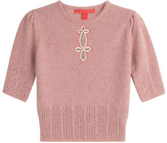 Tommy Hilfiger Embroidered Wool Pullover