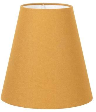 At Oliver Bonas Conical Yellow Lampshade