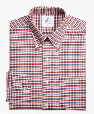 Brooks Brothers Check Button-Down Shirt