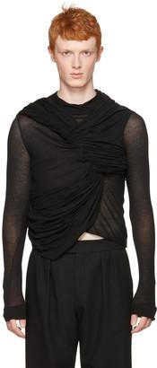 Rick Owens Black Trunk T-Shirt $1,085 thestylecure.com