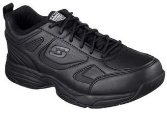 Skechers Women's Dighton Bricelyn Slip-Resistant Work Shoe