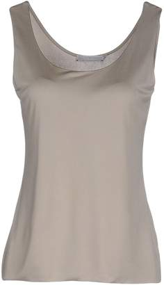 SILK AND CASHMERE Tank tops - Item 37788708CU