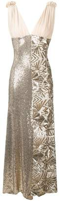 P.A.R.O.S.H. sequin embellished dress