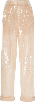 Balmain Relaxed Sequined Pant