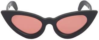 Cat Eye Kuboraum Berlin Matte Acetate Sunglasses